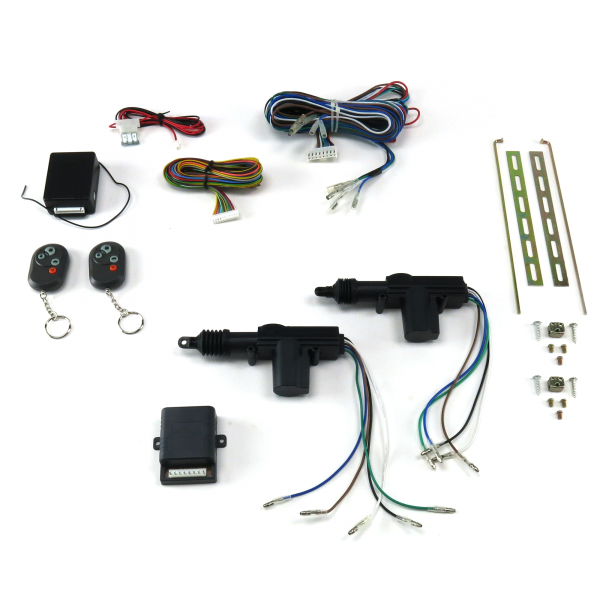 2 door remote central lock kit with remotes autoloc com rh autoloc com Tailgate Lock Locked Door