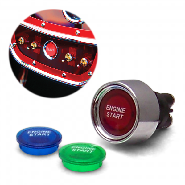 Ford Focus PUSH BUTTON Engine START led light NIB « autoloc com