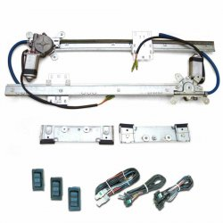 Flat Power Window Kit With 3 Switches 171 Autoloc Com