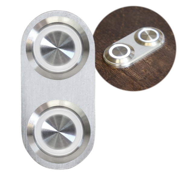 daytona billet switch with white led illumination single switch rh autoloc com Race Car Ignition Diagram AutoLoc Kits