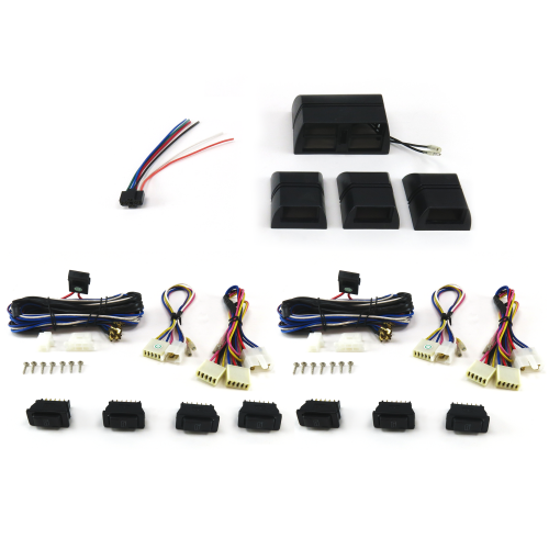 Power Window Switch Kit Seven Sw3 Switches And Cases with Window Lock Switch instructions, warranty, rebate
