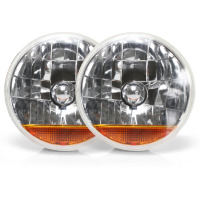 AutoLoc Power Accessories 324086 Snake-Eye 7 Inch Halogen Lens Assembly Pair